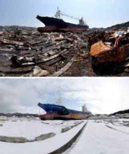 東日本大震災 あれから1年